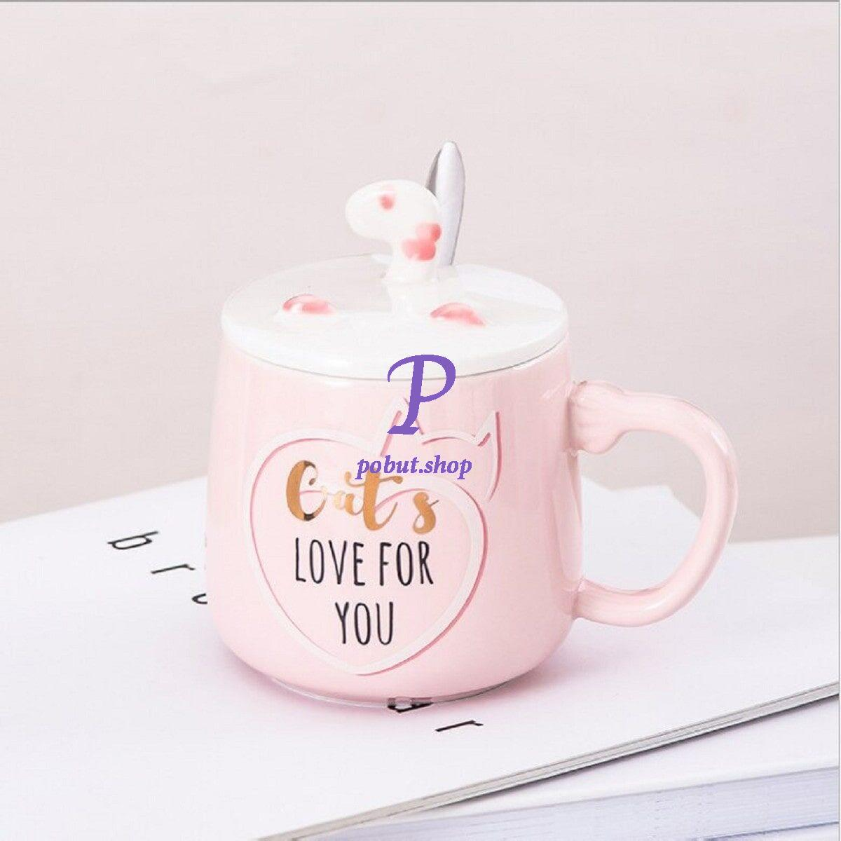 Чашка керамічна Cats 300мл