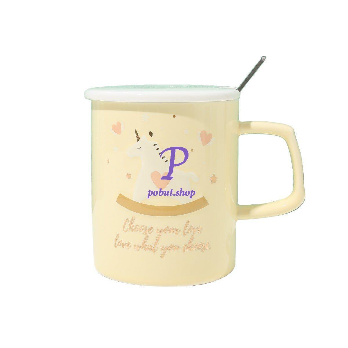 Чашка керамічна Конячка-карусель 300мл