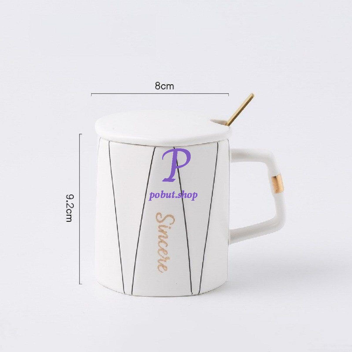 Чашка керамічна Sincere 350 мл, біла
