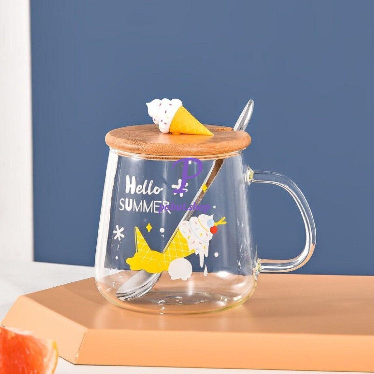 Чашка скляна Морозиво 500мл