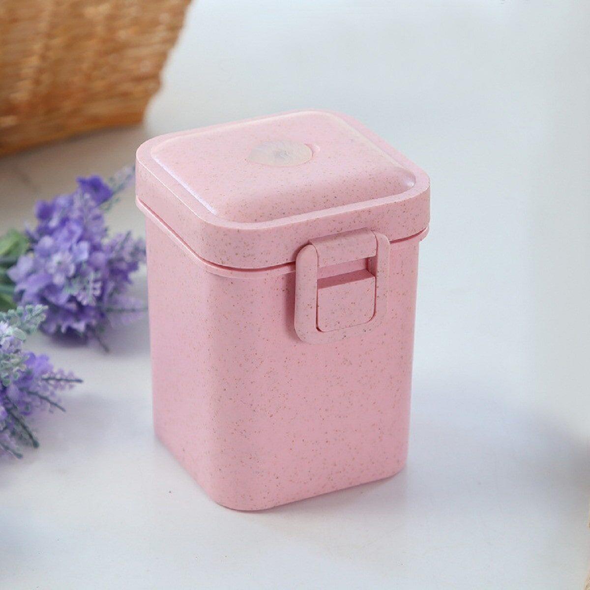 Ланчбокс-стакан eco з ущільнювачем 600 мл, рожевий