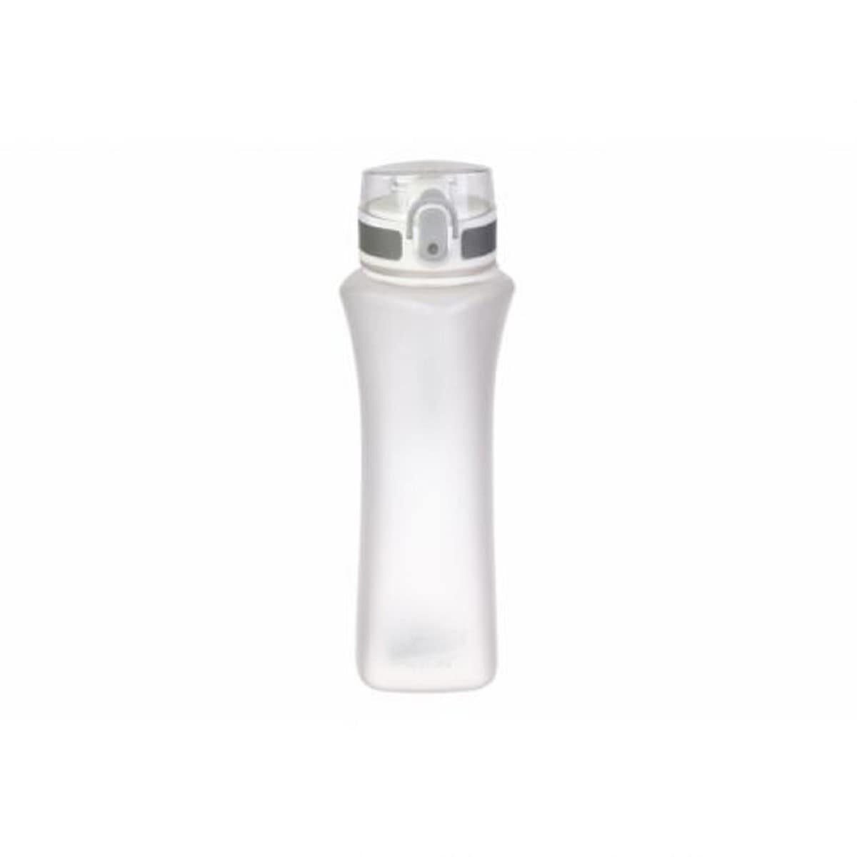 Пляшка для води пластикова 600 мл, біла