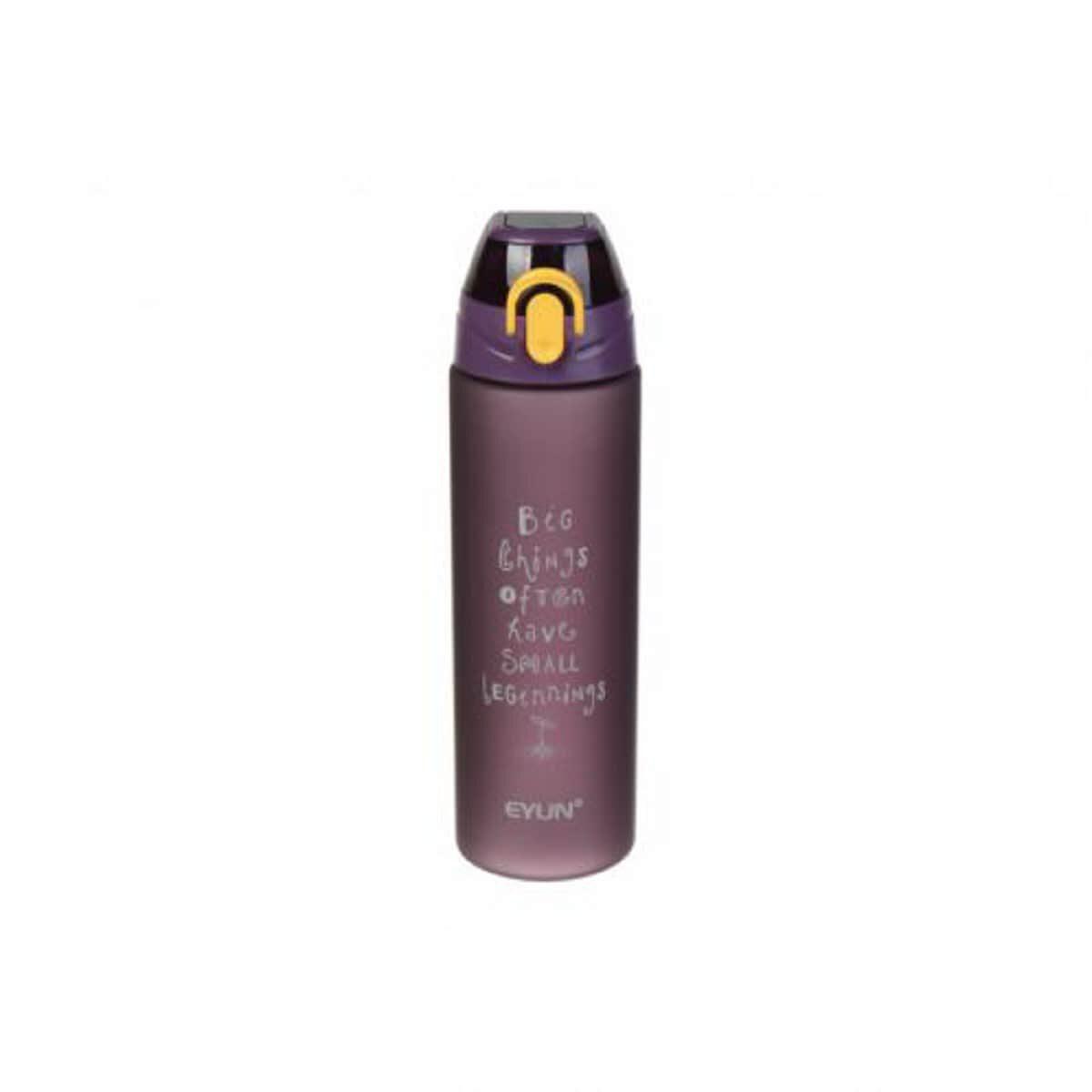 Пляшка спортивна пластикова 750 мл, фіолетова