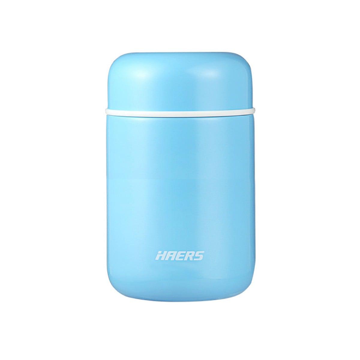 Термос для їжи 400 мл, блакитний