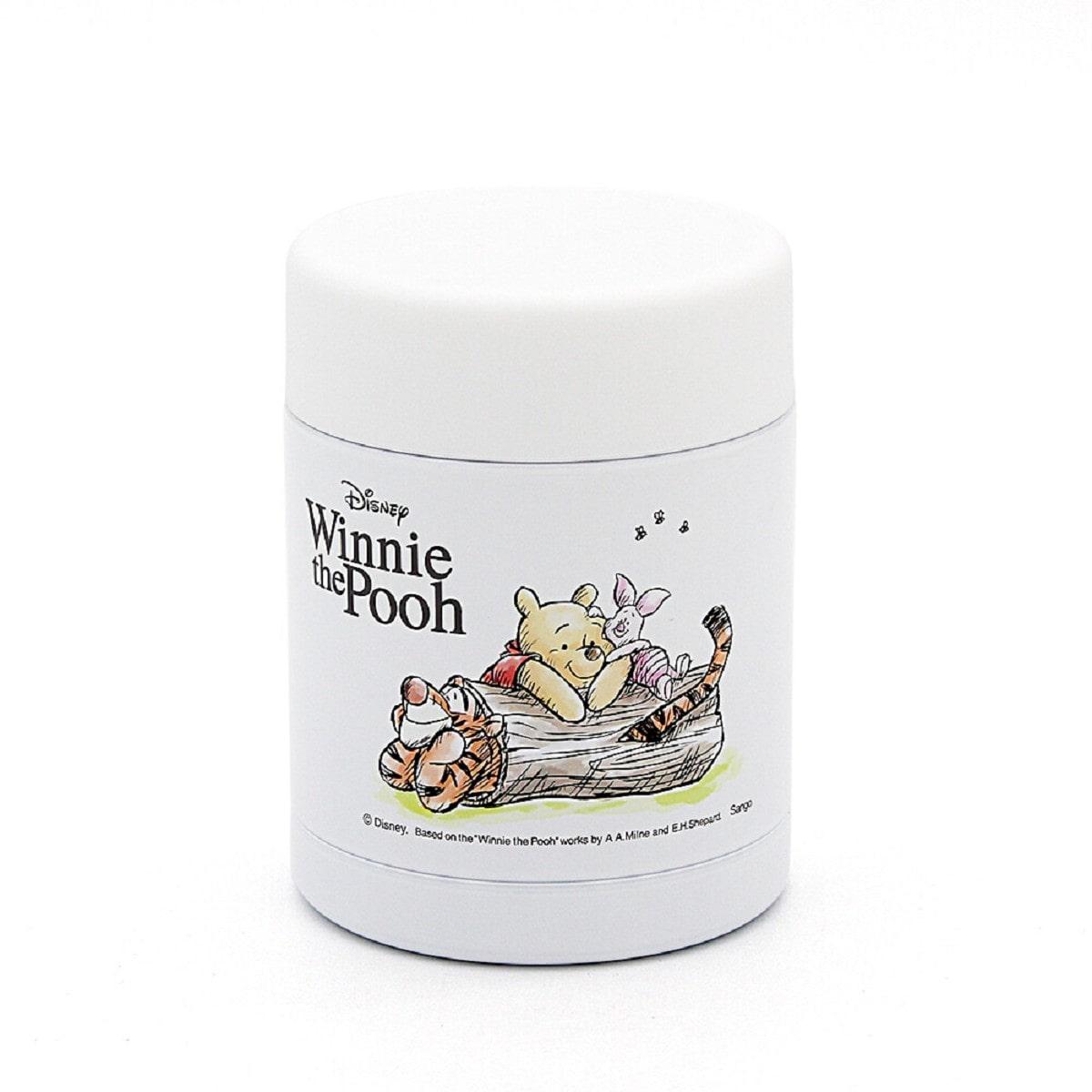 """Термос для їжи """"Winnie the Pooh & K"""" 350 мл, білий"""