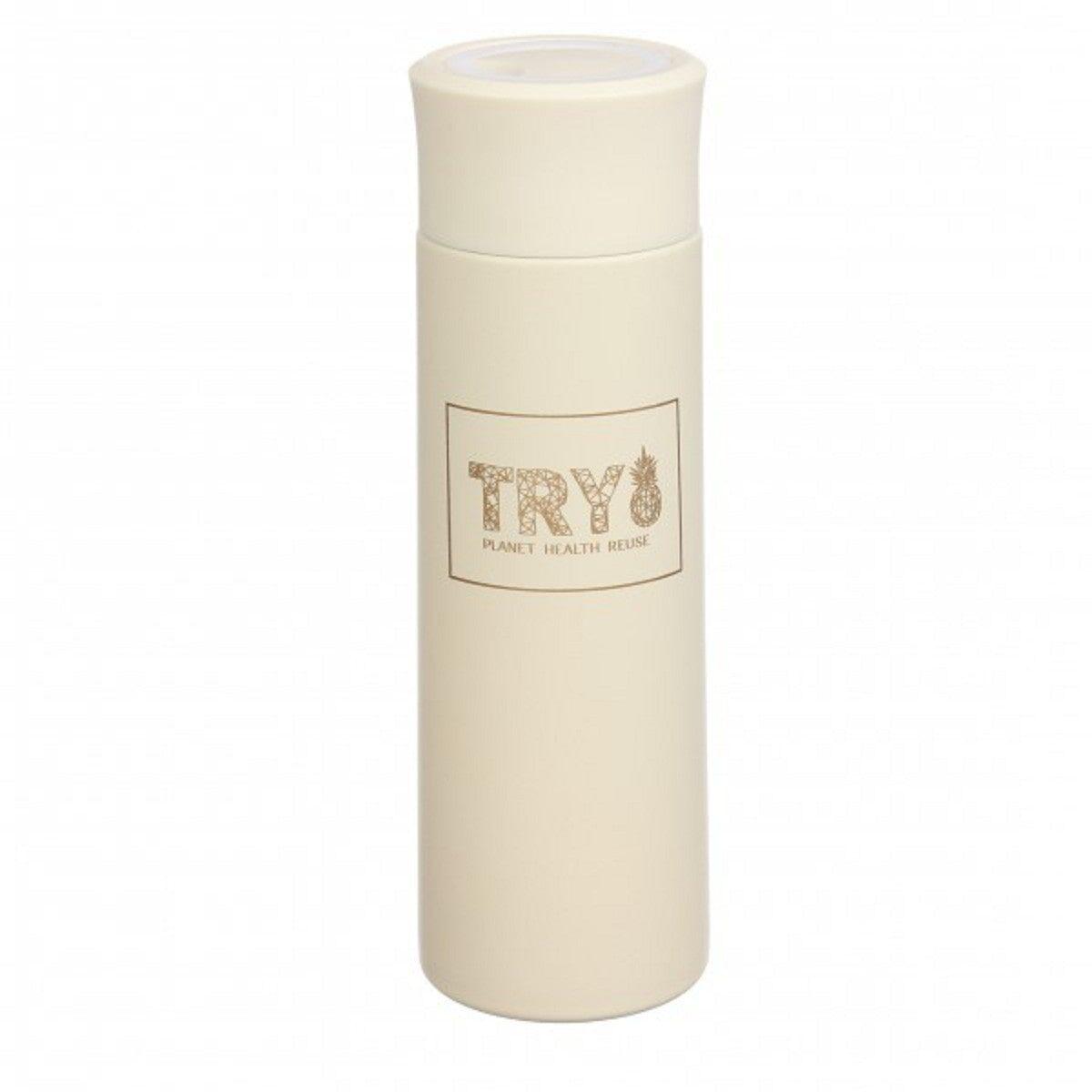 Термос TRY 450 мл, бежевий