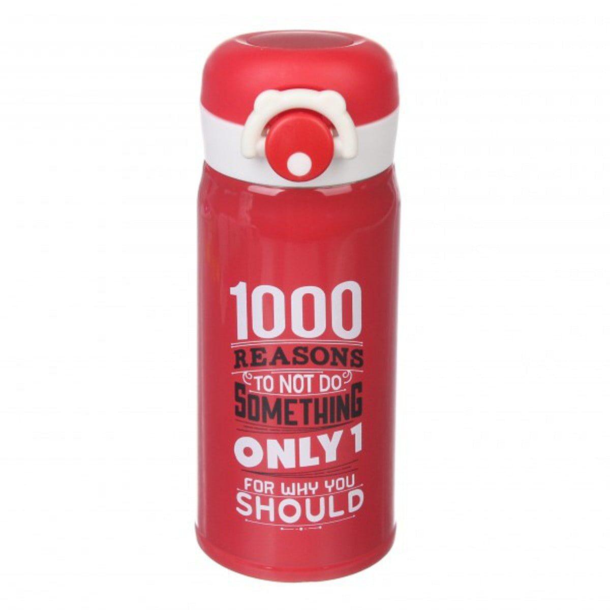 Термос з поїлкою 350 мл, червоний