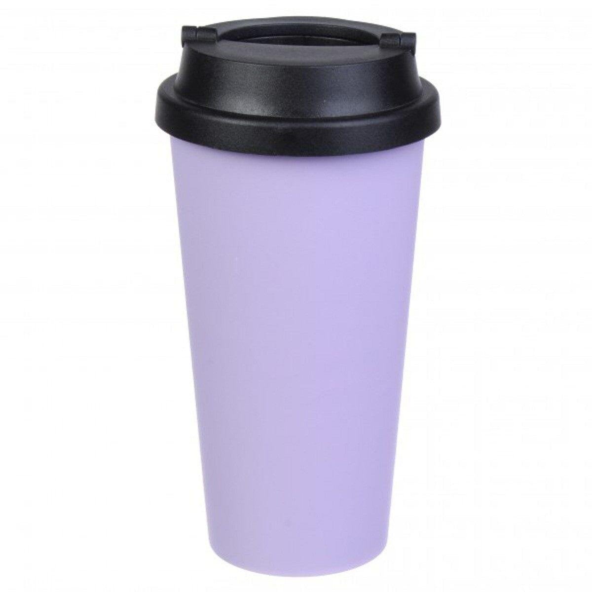 Термостакан 450 мл., фіолетовий
